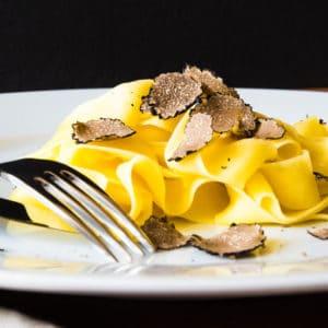 Tagliatelle with truffle